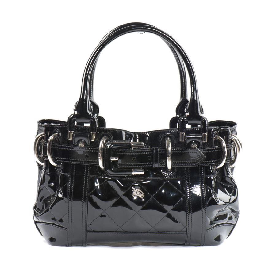 b406c62e3218 Burberry London Patent leather bag ...