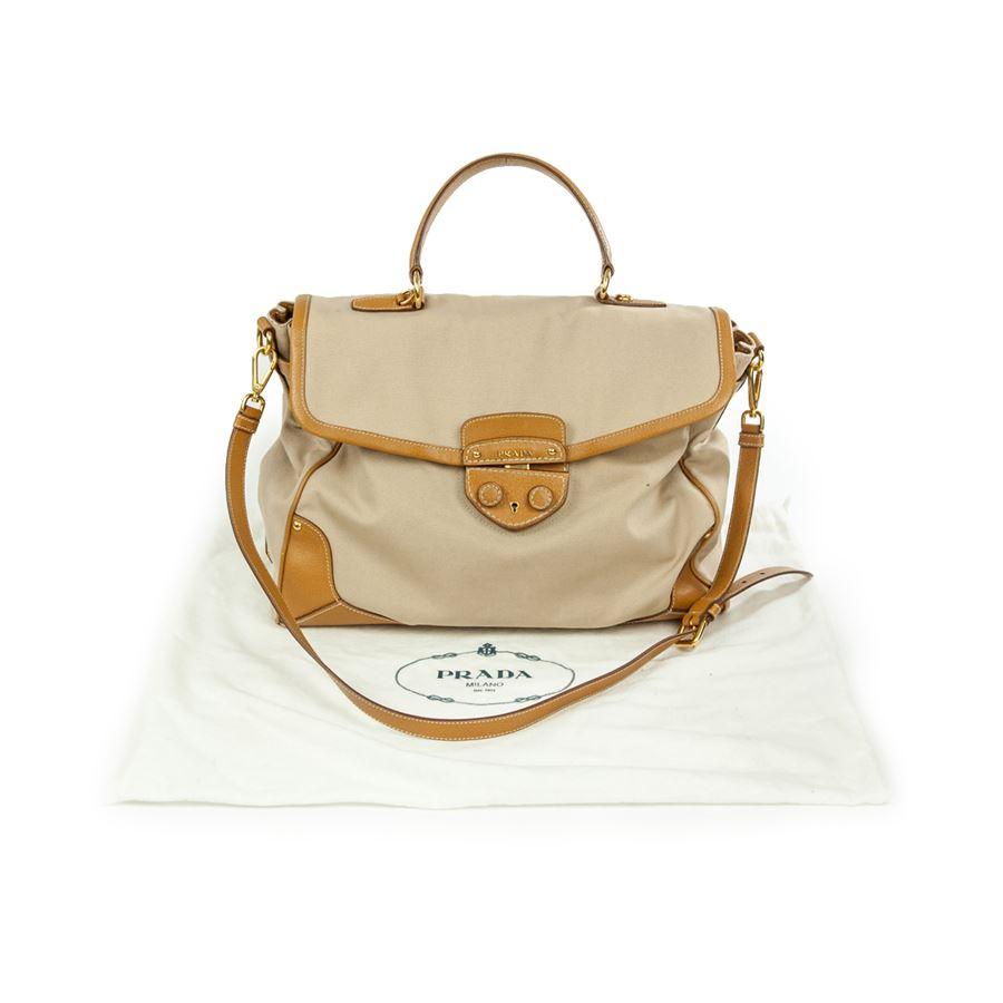 prada brown leather messenger bag - Prada Borsa grande - ComeNuovo.eu