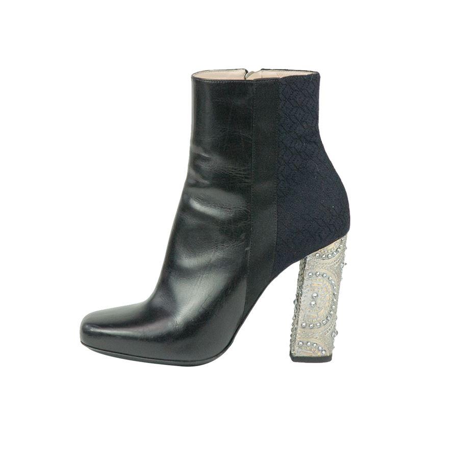 5824227f98 Dries Van Noten Jewel half boot ...