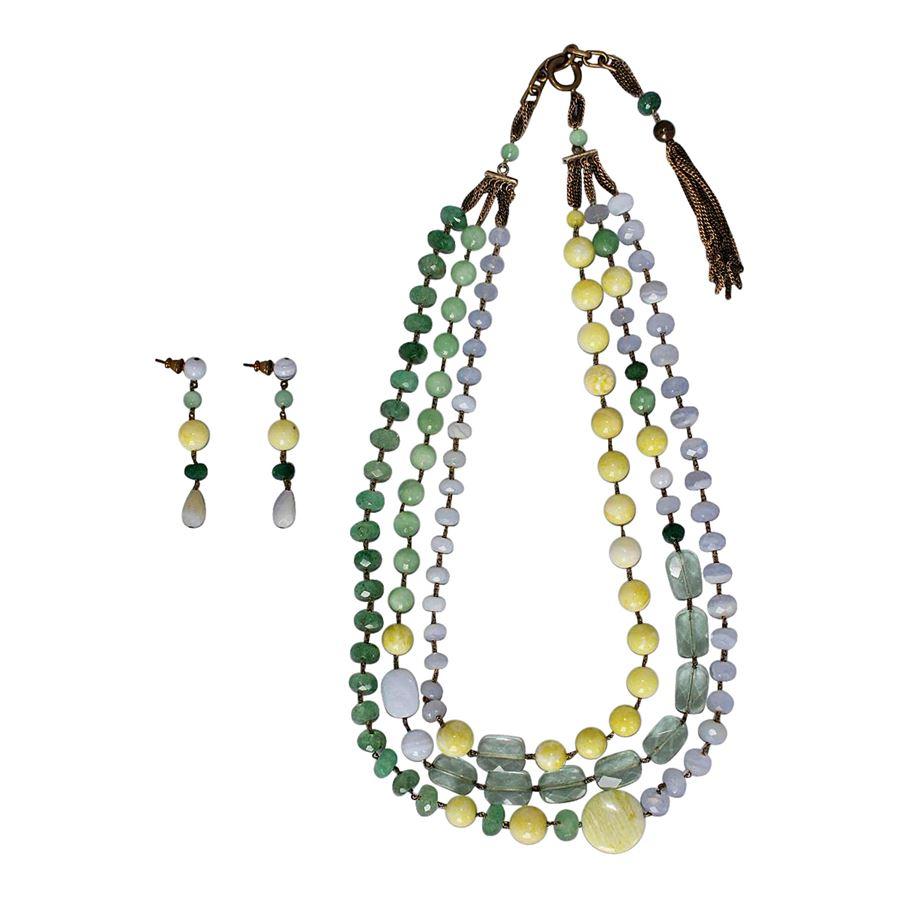 stile distintivo bella vista buono sconto Pellini Milano - Earrings and necklace parure | ComeNuovo ...