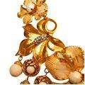 Carlo Zini  Collier perle e fiori