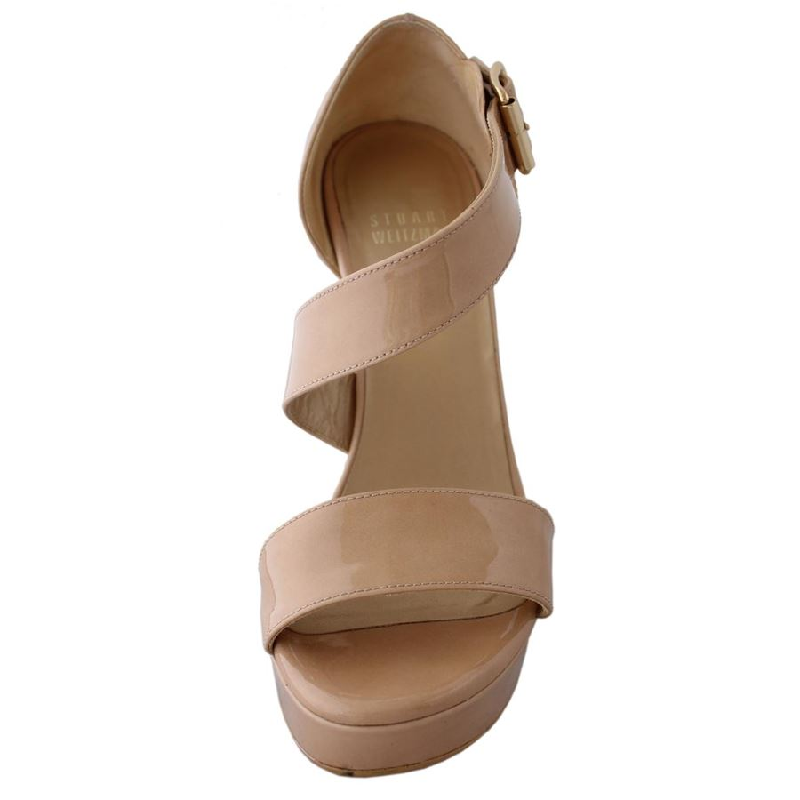 3975fb049c07 ... Stuart Weitzman One liner wedge shoe ...