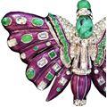 Carlo Zini  Butterfly brooch