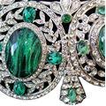 Carlo Zini  Emerald tiara