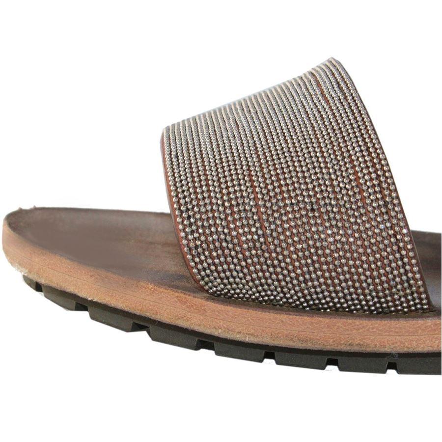 the best attitude a000f 7ce51 Brunello Cucinelli - Jewel sandal   ComeNuovo Luxury selection