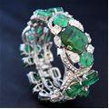 Carlo Zini  Bracciale smeraldi
