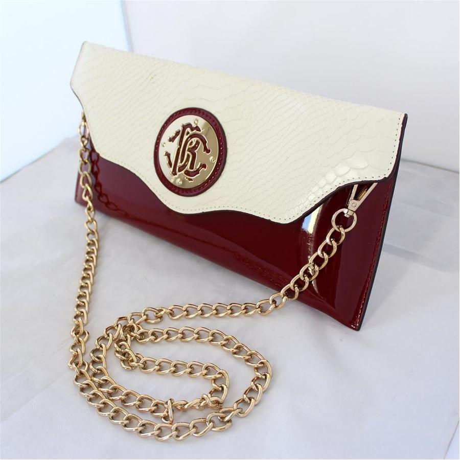 buy online 9179f 773e0 Roberto Cavalli - Bicolor pochette   ComeNuovo Luxury selection
