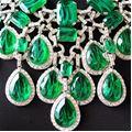 Carlo Zini  Maxi collier smeraldi