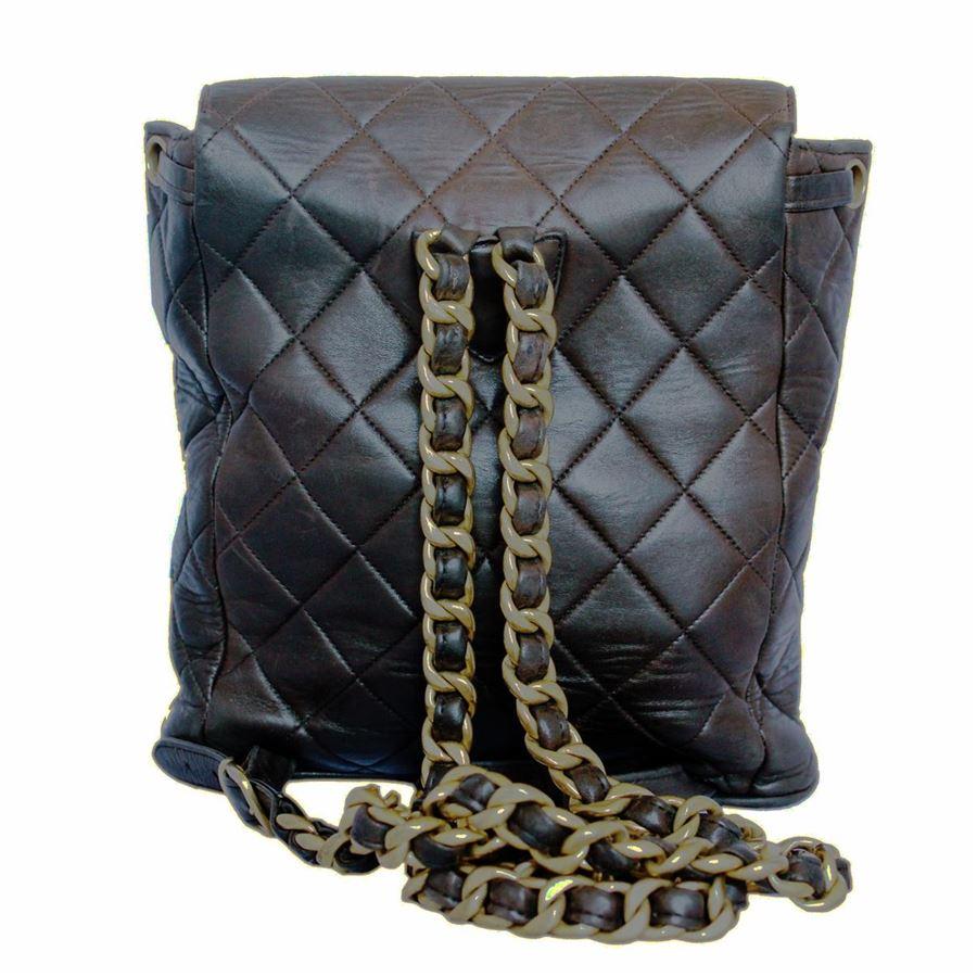 dbd689cf203e Chanel Vintage backpack Chanel Vintage backpack ...
