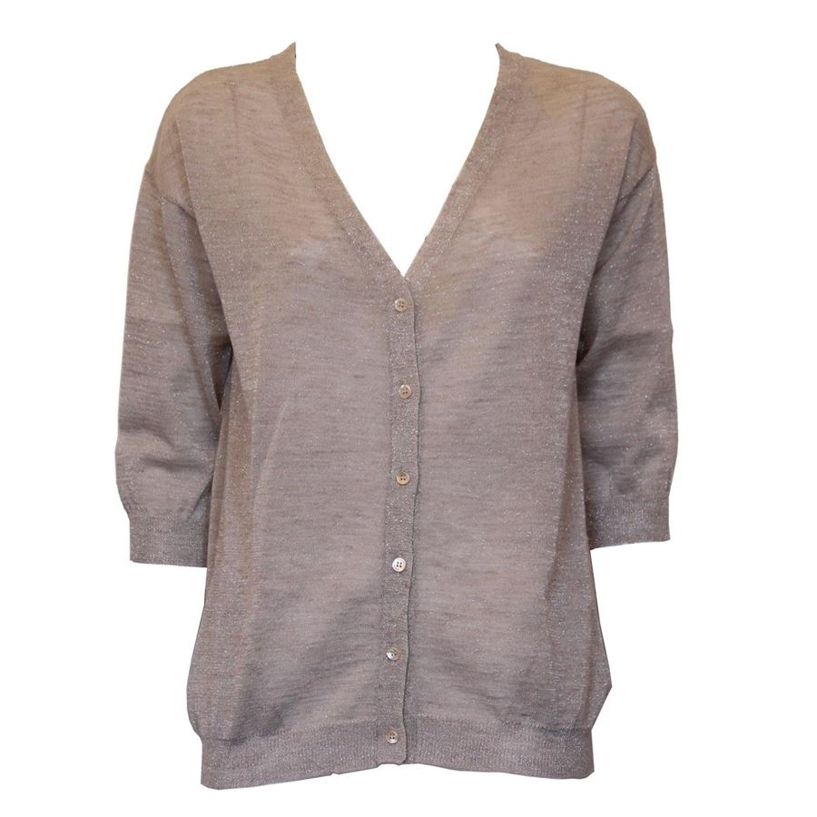 premium selection 9777c 5fe36 Jucca - Lamé cardigan | ComeNuovo Luxury selection