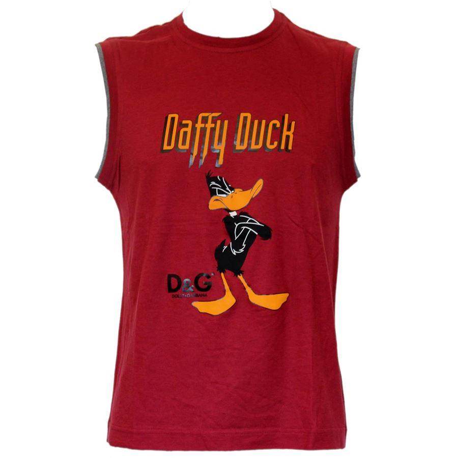new product 2cc56 8a2df Dolce & Gabbana - Canotta Daffy Duck | ComeNuovo Luxury ...