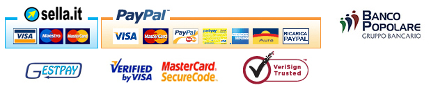 sella.it, Paypal, Visa, mastercard, gestpay